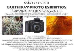 Earth Day Photo Exhibit announcement